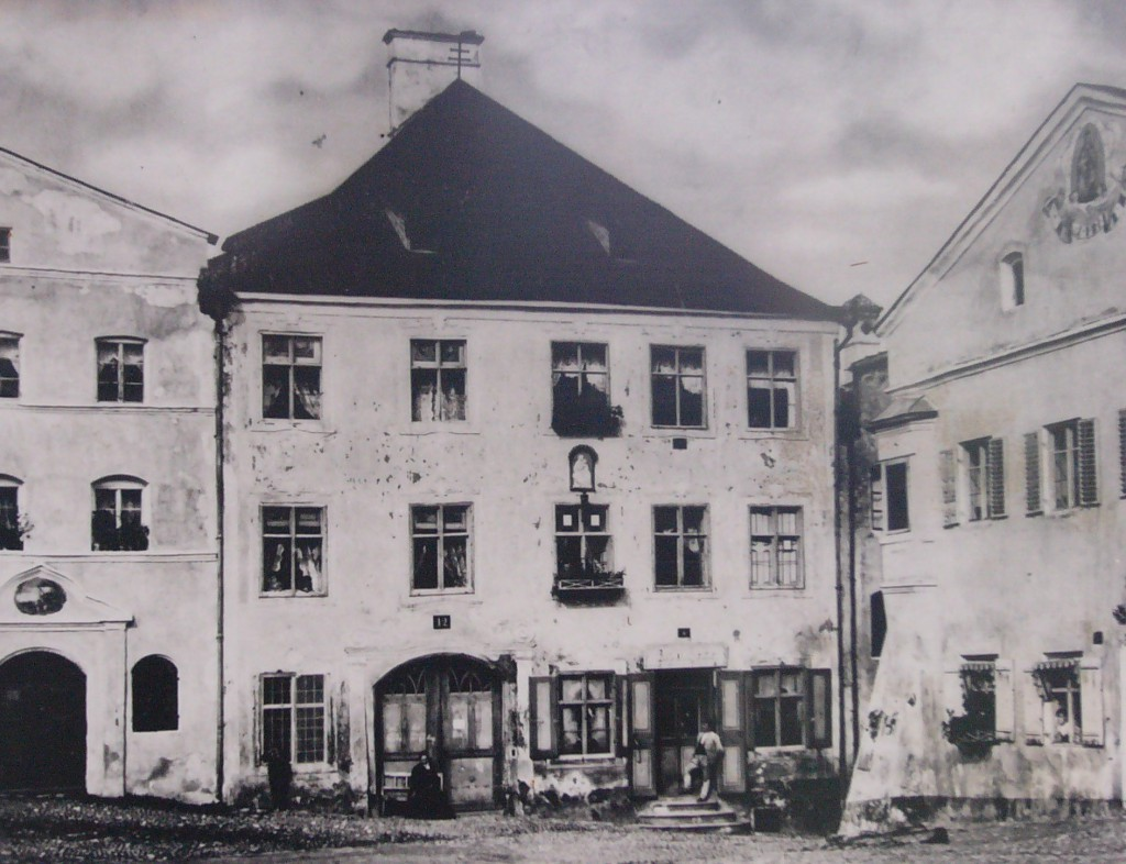 Angstwurm Kraiburg altes bild