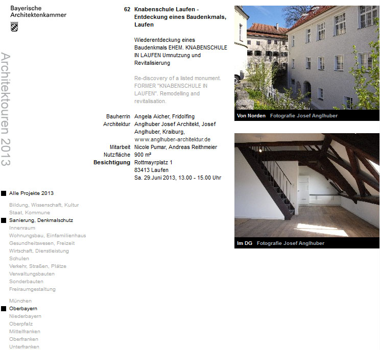 architektouren laufen